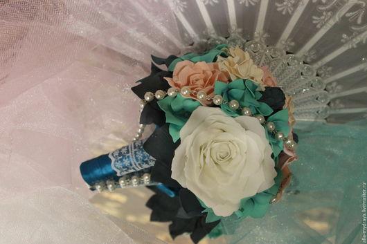Букет невесты `Каприз`. Автор Алла Мудрая