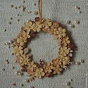 Подарки к праздникам handmade. Livemaster - original item wreath. Handmade.