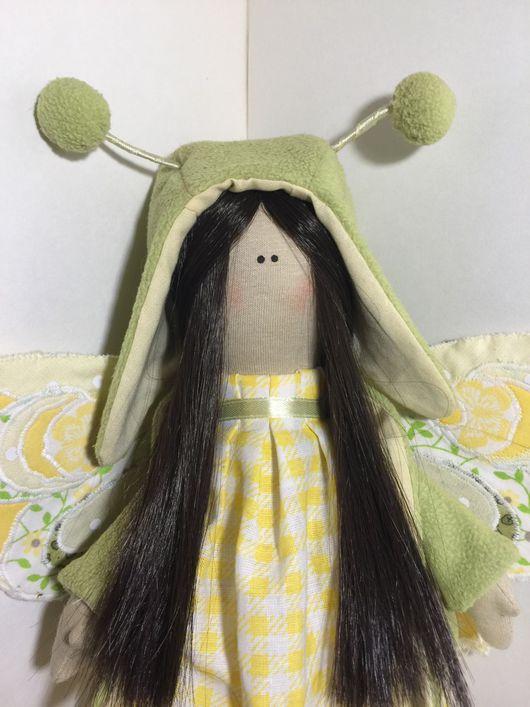 Коллекционные куклы ручной работы. Ярмарка Мастеров - ручная работа. Купить Очаровательная феечка. Handmade. Кукла, интерьерная игрушка, хлопок