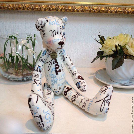 Куклы Тильды ручной работы. Ярмарка Мастеров - ручная работа. Купить мишка-тильда чудесный подарок. Handmade. Разноцветный