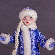 Куклы и игрушки ручной работы. Ярмарка Мастеров - ручная работа Снегурочка. Handmade.