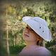 """Шляпы ручной работы. Дамская шляпка """"Здравствуй,Одри!"""". Ирина Спасская.. Ярмарка Мастеров. Изящная шляпа, шляпа с полями"""