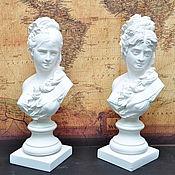 Для дома и интерьера handmade. Livemaster - original item Bust girls plaster for decorative interior and garden Provence. Handmade.
