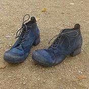 Обувь ручной работы. Ярмарка Мастеров - ручная работа Женские ботинки Nebula 2. Handmade.
