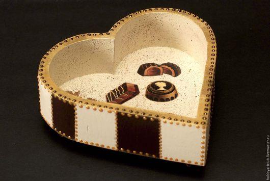 Конфетницы, сахарницы ручной работы. Ярмарка Мастеров - ручная работа. Купить Конфетница. Handmade. Конфетница, сердце, ручная работа handmade