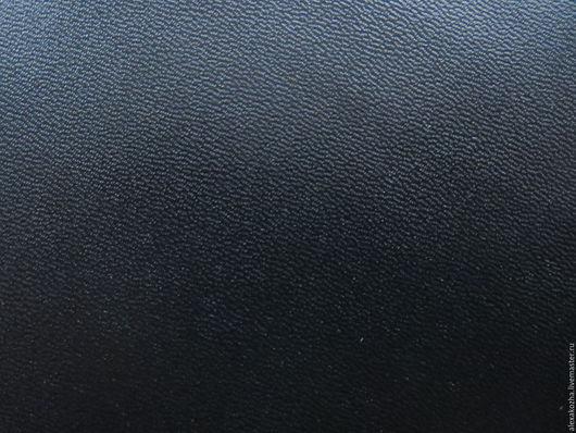 """Шитье ручной работы. Ярмарка Мастеров - ручная работа. Купить Кожа натуральная """"Кристи +"""" цвет черный.. Handmade. Черный"""