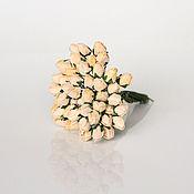 Цветы искусственные ручной работы. Ярмарка Мастеров - ручная работа Бутоны роз, 25 шт. Handmade.