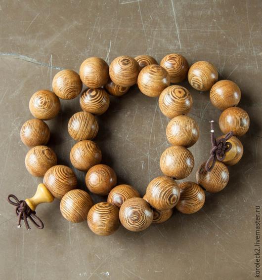 """Для украшений ручной работы. Ярмарка Мастеров - ручная работа. Купить Тибетские бусины из семян бодхи """"Глаз Феникса"""", 14 мм. Handmade."""