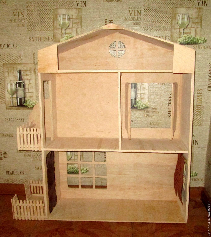 Кукольный домик своими руками пошаговая инструкция