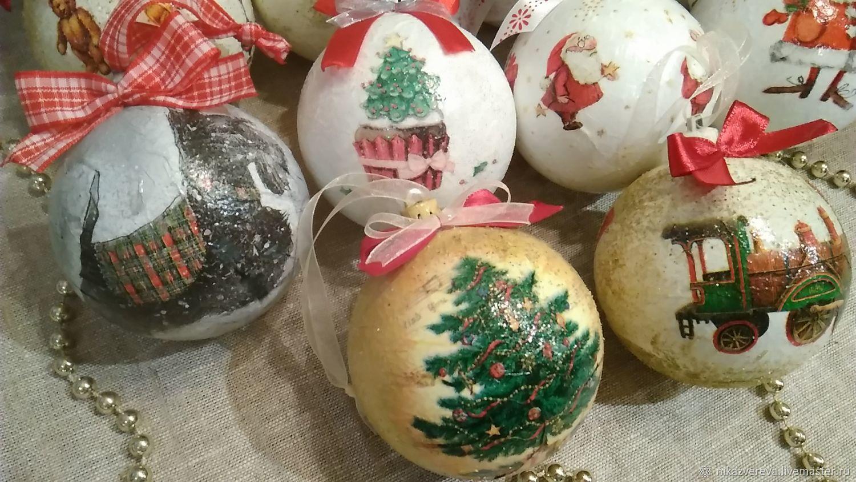 Christmas balls, Christmas decorations, St. Petersburg,  Фото №1