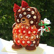 Куклы и игрушки ручной работы. Ярмарка Мастеров - ручная работа Медвежонок из конфет. Handmade.