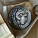Брошь-монета `Александр Македонский`