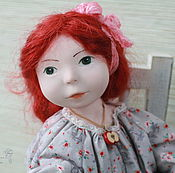 Куклы и игрушки handmade. Livemaster - original item Redhead Sonja. Handmade.