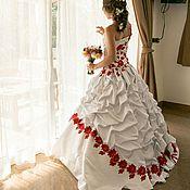 Свадебный салон ручной работы. Ярмарка Мастеров - ручная работа Свадебное Платье ручной работы. Тайланд. Handmade.