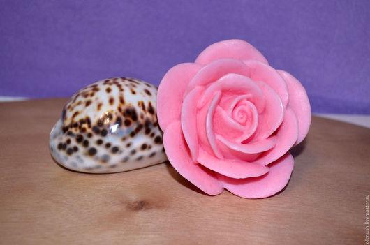 """Мыло ручной работы. Ярмарка Мастеров - ручная работа. Купить Мыло ручной работы """"Королевская роза"""". Handmade. Разноцветный, роза"""