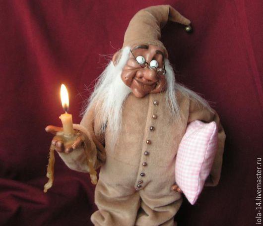 Сказочные персонажи ручной работы. Ярмарка Мастеров - ручная работа. Купить Тот,кто гасит свет. Handmade. Бежевый