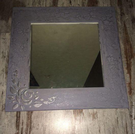Зеркала ручной работы. Ярмарка Мастеров - ручная работа. Купить Зеркало декоративное.. Handmade. Комбинированный, рама для зеркала, рама для фото