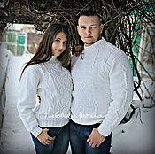 Одежда handmade. Livemaster - original item Winter white Family look .. Handmade.
