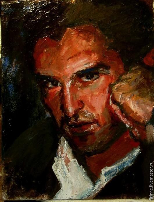 Люди, ручной работы. Ярмарка Мастеров - ручная работа. Купить портрет мужчины. Handmade. Портрет на заказ, портрет мужчины, миниатюра