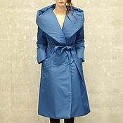 Одежда handmade. Livemaster - original item Women`s insulated coat Biruza. Handmade.
