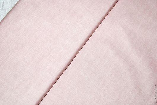 Шитье ручной работы. Ярмарка Мастеров - ручная работа. Купить Ткань хлопок Нежность. Handmade. Розовый, ткань для печворка, печворк