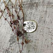 Украшения handmade. Livemaster - original item Silver dandelion pendant. Handmade.
