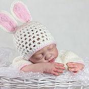 Куклы и игрушки ручной работы. Ярмарка Мастеров - ручная работа Леночка милый зайчонок, реборн. Молд reborn Natali Blick. Handmade.