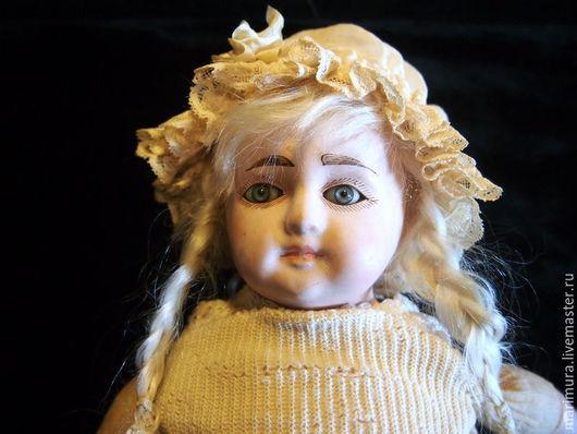 """Винтажные куклы и игрушки. Ярмарка Мастеров - ручная работа. Купить кукла""""Козетта""""  Резерв. Handmade. Бежевый"""