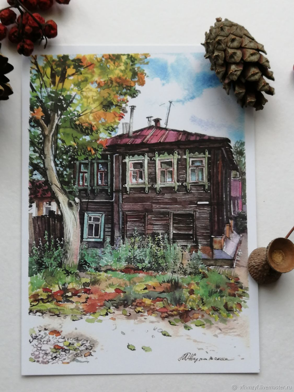 """Сувенирные открытки """"Мои шуйские зарисовки"""", Открытки, Шуя,  Фото №1"""