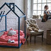Для дома и интерьера ручной работы. Ярмарка Мастеров - ручная работа №19. Кроватка-домик. Handmade.