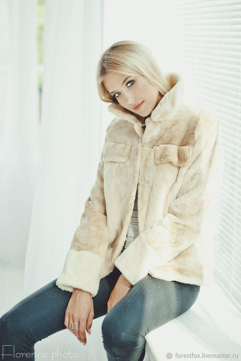 Fur jacket made of sheared beaver, Fur Coats, Moscow,  Фото №1