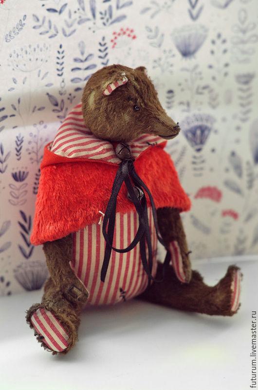 """Мишки Тедди ручной работы. Ярмарка Мастеров - ручная работа. Купить Мишка """"Матрас"""". Handmade. Коричневый, авторские тедди, крепления"""