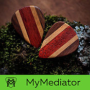 Музыкальные инструменты handmade. Livemaster - original item The Mediator Multi Wood - 04. Handmade.