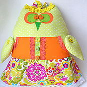 Для дома и интерьера ручной работы. Ярмарка Мастеров - ручная работа Сова игрушка. Handmade.