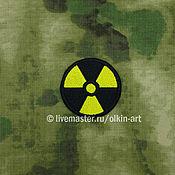 Субкультуры handmade. Livemaster - original item patch Stalker - RADIATION (circle). Handmade.