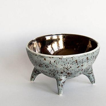 """Посуда ручной работы. Ярмарка Мастеров - ручная работа Зверовазочка """"Королевская перепелка"""". Handmade."""