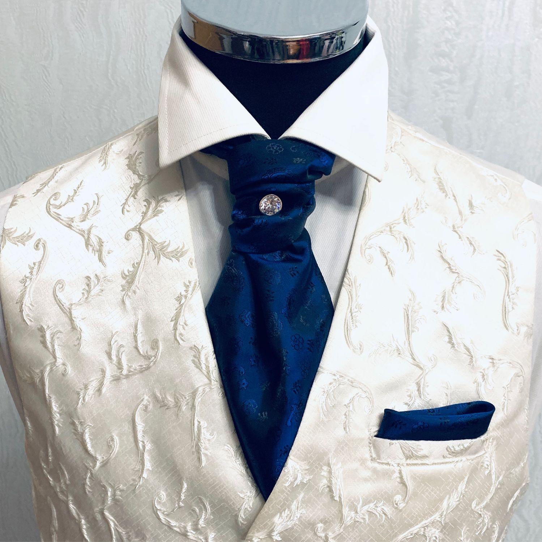 Шейный платок Аскот. Пластрон - галстук Шарпей, Галстуки, Москва,  Фото №1