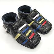 Одежда детская handmade. Livemaster - original item Leather Baby Shoes,Baby Moccasins,Sport Baby Shoes,Ebooba. Handmade.