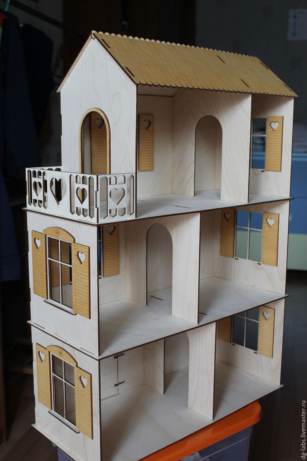 Dollhouse 3 Floors Shop Online On Livemaster With Shipping
