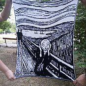 """Картины и панно ручной работы. Ярмарка Мастеров - ручная работа Гобелен """"Крик"""".. Handmade."""