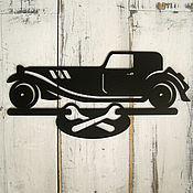 Для дома и интерьера ручной работы. Ярмарка Мастеров - ручная работа Табличка Большой гараж. Handmade.
