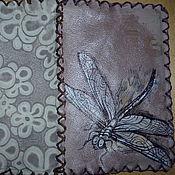 Канцелярские товары handmade. Livemaster - original item Cover leather