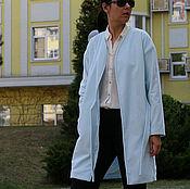 Одежда ручной работы. Ярмарка Мастеров - ручная работа Бархатное пальто-халат. Женское пальто. Демисезонное пальто.. Handmade.