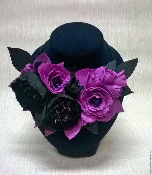 """Колье, бусы ручной работы. Ярмарка Мастеров - ручная работа. Купить Колье """"Виолетта"""". Handmade. Колье ручной работы"""