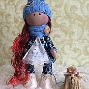 """Куклы и игрушки ручной работы. Ярмарка Мастеров - ручная работа Интерьерная кукла """"Дама с собачкой"""". Handmade."""