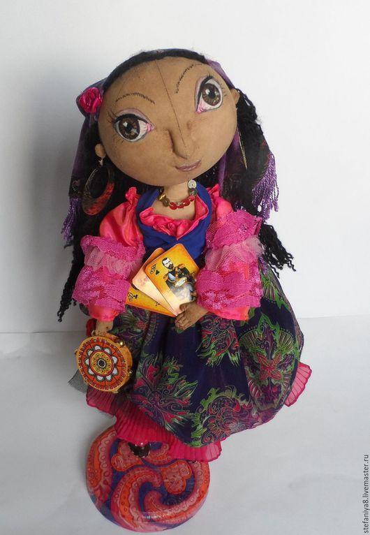 Куклы тыквоголовки ручной работы. Ярмарка Мастеров - ручная работа. Купить Тыквоголовка.Цыганка Джофранка.Купить авторскую куклу. Handmade.