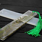 handmade. Livemaster - original item Silicone mold for bookmarks. Handmade.