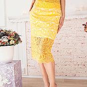 """Одежда ручной работы. Ярмарка Мастеров - ручная работа Гипюровая юбка """"Кружева от солнца"""". Handmade."""
