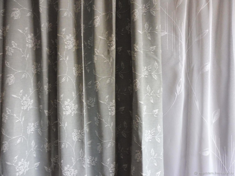 Decorative curtains for Windows.Art.N .№-211, Curtains1, Gera,  Фото №1