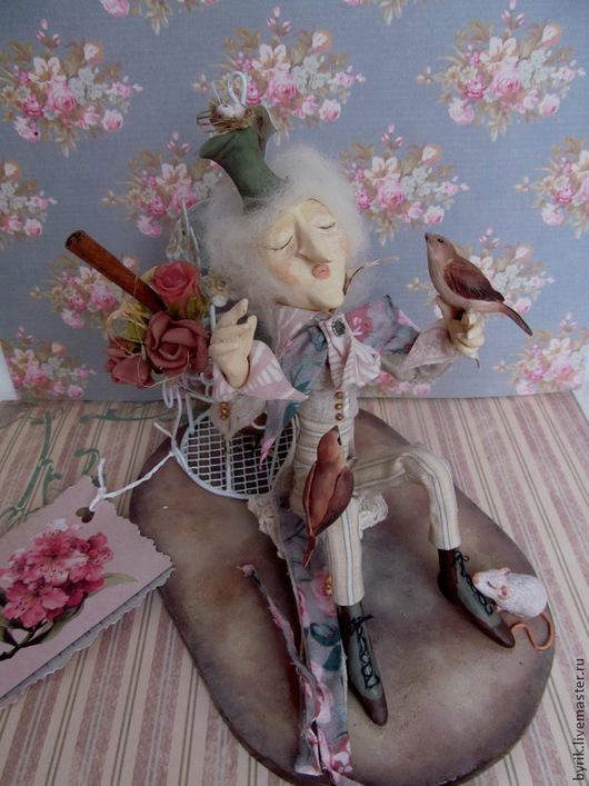 """Куклы и игрушки ручной работы. Ярмарка Мастеров - ручная работа. Купить Авторская композиция """"Гармония"""".. Handmade. Бежевый, пластика, дерево"""